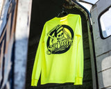 OG Safety Green Long Sleeve Tee - Lifestyle