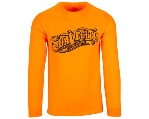 OG Safety Orange Tee - Long Sleeve - Front