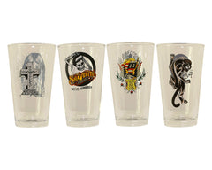 Suavecito Pint Glass 4 Pack