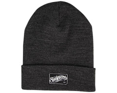 Charcoal Beanie With OG Script - Front