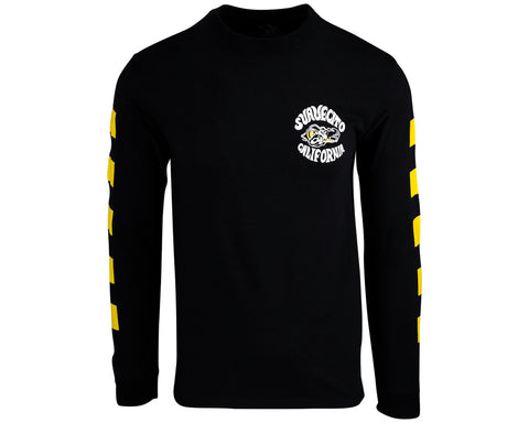 Super Tee - Black Long Sleeve - Front