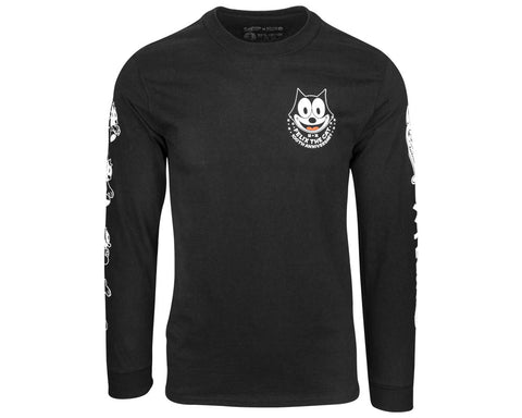 Suavecito X Felix the Long Sleeve Tee - Front