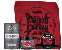 Suavecito X Hoonigan Original Hold Oil Barrel Set