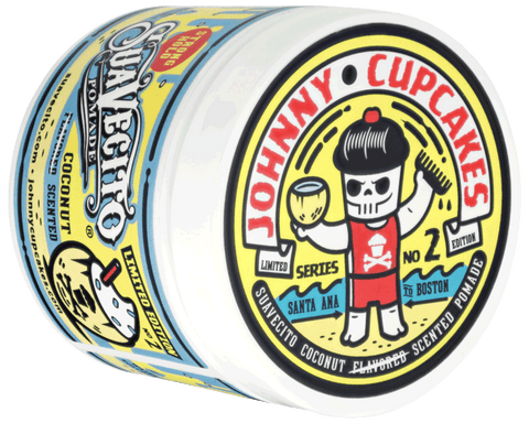 Suavecito X Johnny Cupcakes Firme (Strong) Hold Coconut Scented Pomade