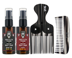 Suavecito X Violent Gentlemen Beard Maintenance Kit