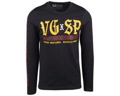 The Suavecito X Violent Gentlemen Long Sleeve Tee - Front