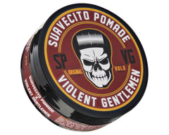 Suavecito X Violent Gentlemen Original Hold Pomade - Angled