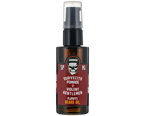 Suavecito X Violent Gentlemen Beard Oil - Playoffs