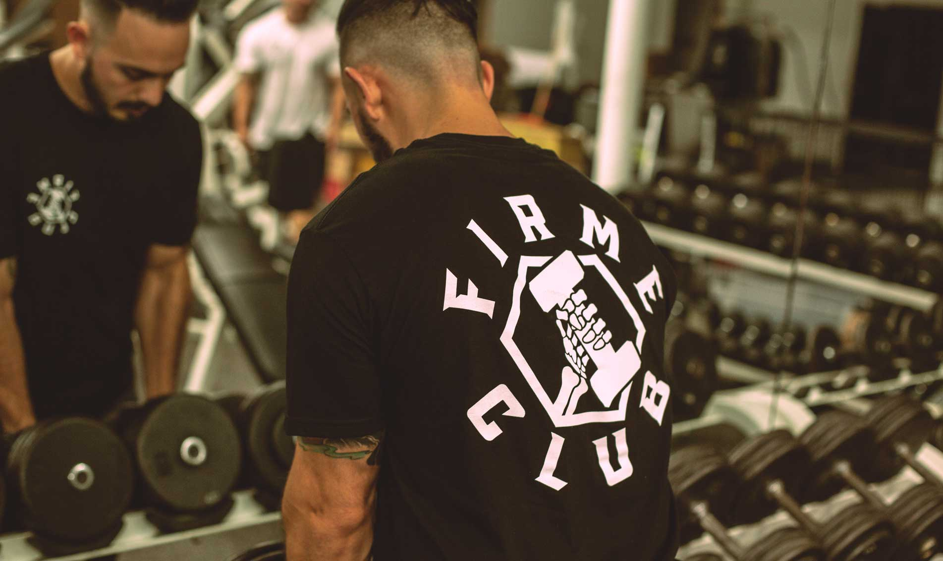 Alex wearing the Firme Club Federation Tee