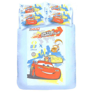 Cars 4 Piece Single Bedding Set: On The Throttle