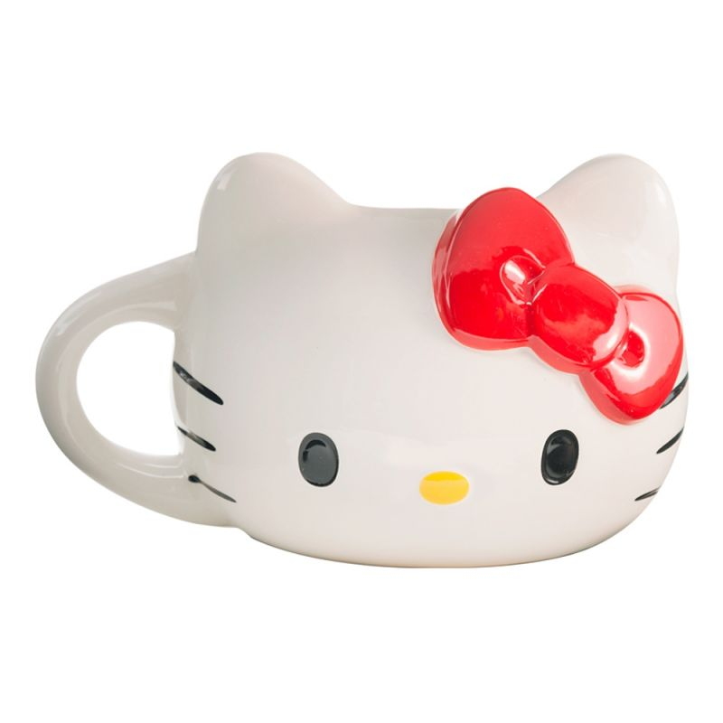 Hello Kitty Sculpted Ceramic Mug