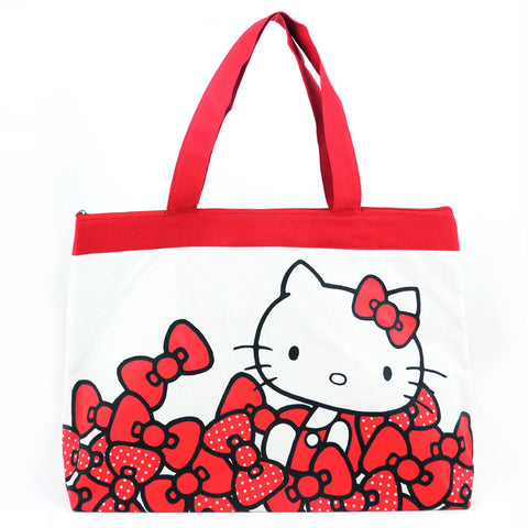 Picture of Hello Kitty Tote Bag: Red Bows