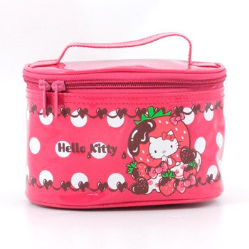 Hello Kitty Cosmetic Bag: Dark Pink