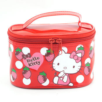 Hello Kitty Cosmetic Bag: Red