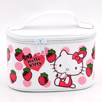 Hello Kitty Cosmetic Bag: White
