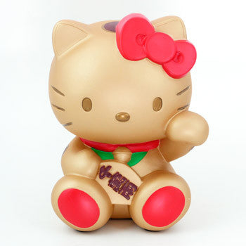 Picture of Hello Kitty Fortune Coin Bank: Gold