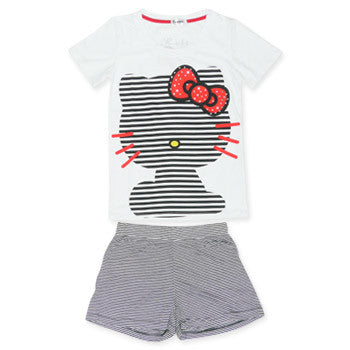 Picture of Hello Kitty T Shirt And Shorts Set