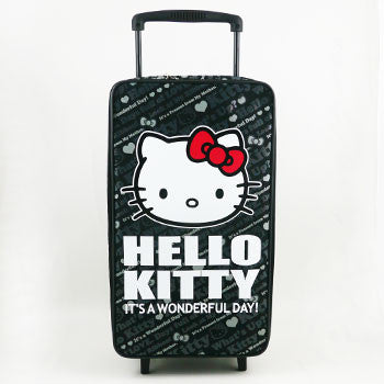 Picture of Hello Kitty Carry On Luggage: Black