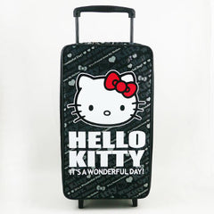 Hello Kitty Carry On Luggage: Black