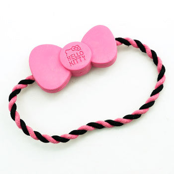 Picture of Hello Kitty Pet Rope & Rubber Chew Toy Ring