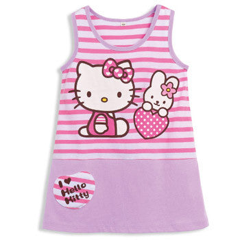 Picture of Hello Kitty Kids Wear: Striped Tank Top