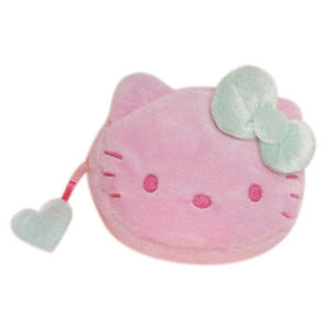 Hello Kitty Coin Purse: Pink/Green Bow