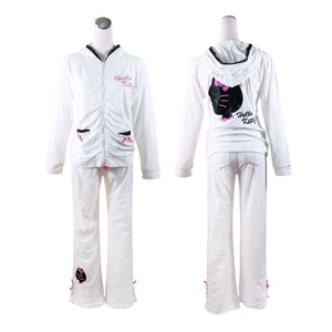 Hello Kitty Lounge Set: White