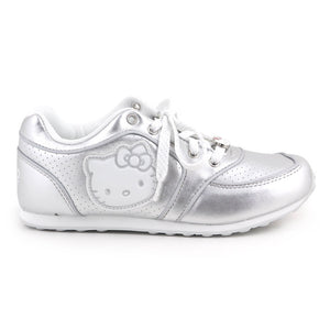 Hello Kitty Shoes: Silver W8