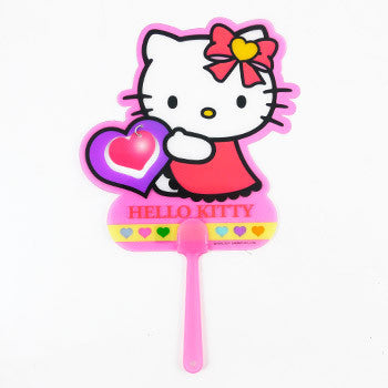 Picture of Hello Kitty Hand Fan: Heart