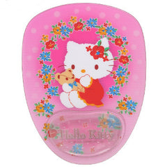 Hello Kitty Mouse Pad: Floral