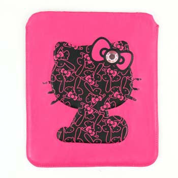 Picture of Hello Kitty iPad Sleeve: Bunnies & Jewelled Bow