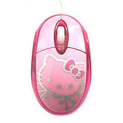 Hello Kitty LED Optical Mouse (Pink)