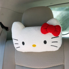 Hello Kitty Car Seat Head Cushion