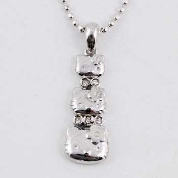 Picture of Hello Kitty Triplets Necklace