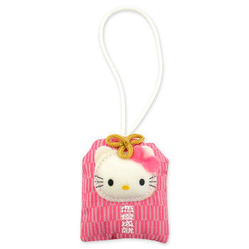 Picture of Hello Kitty Pocket Mascot Strap: Fall In Love