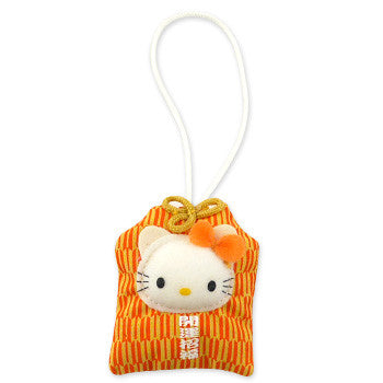 Picture of Hello Kitty Pocket Mascot Strap: Good Luck