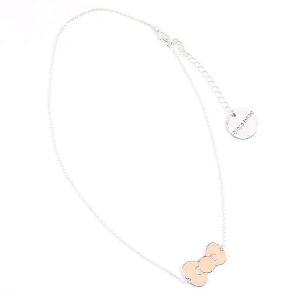 Hello Kitty Necklace: Pink Bow