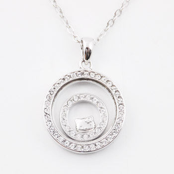 Picture of Hello Kitty Crystal Hoop Necklace