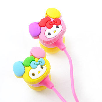 Picture of Hello Kitty Earphone: Love & Cute