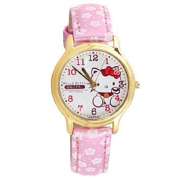 Picture of Hello Kitty Watch: Pink Flower Strap