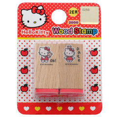 Hello Kitty Stamp Set: Teddy Bear