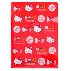 Hello Kitty A4 File Folder: Coffee Cups