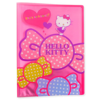 Picture of Hello Kitty A4 20 Page File Folder: Kawaii