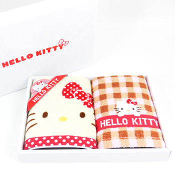 Picture of Hello Kitty Face Towel Set