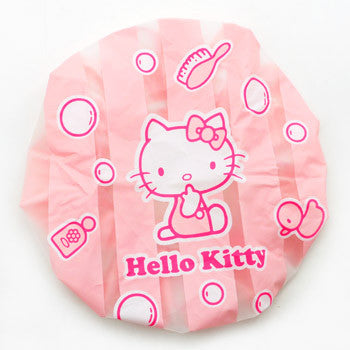 Picture of Hello Kitty Shower Cap: Stripes