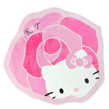 Picture of Hello Kitty Area Rug: Plush Rose