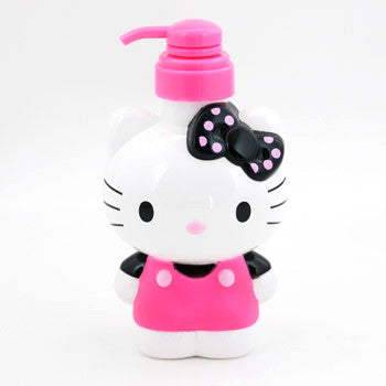 Picture of Hello Kitty Pump Bottle: Black Polka Dot Bow