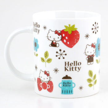 Picture of Hello Kitty Mug: Flowers & Fruits