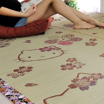 Picture of Hello Kitty Small Tatami Rug: Flower