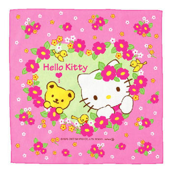 Picture of Hello Kitty Picnic Cloth: Flowers